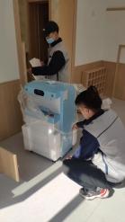 为幼教集团安装八台净水设备