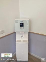 为鞍山市铁西第一幼儿园安装一台净水设备