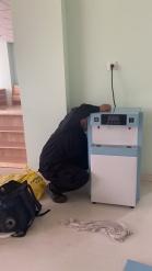 为白鸽幼儿园玉龙湾分园安装八台净水设备