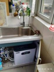 高新嘉园客户更换净水器