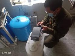 玉峦湾用户更换软水机
