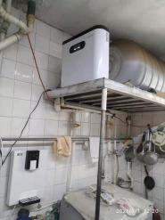 湖南街用户安装一套净水设备